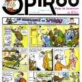 First Spirou page, 21 April 1938