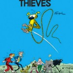 Spirou 5 cover (ill. Cinebook, Franquin)