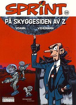 Sprint: På Skyggesiden av Z (Spirou #52 cover; ill. Egmont, Yoann)