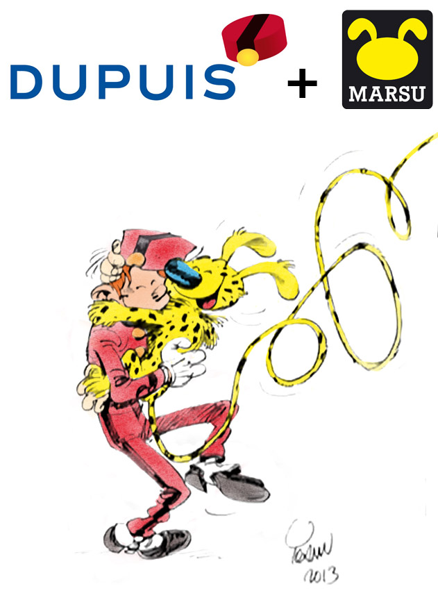 Dupuis + Marsu (ill. Dupuis, Marsu, Yoann, maxibon