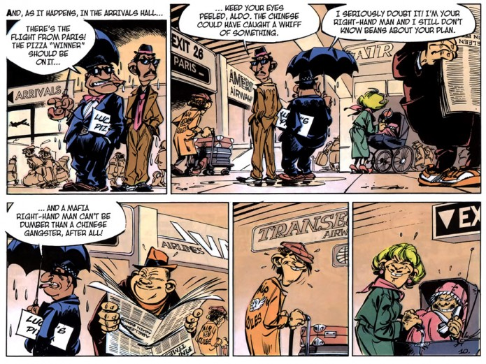 From Spirou #39 p.10 (ill. Tome & Janry; (c) Cinebook)