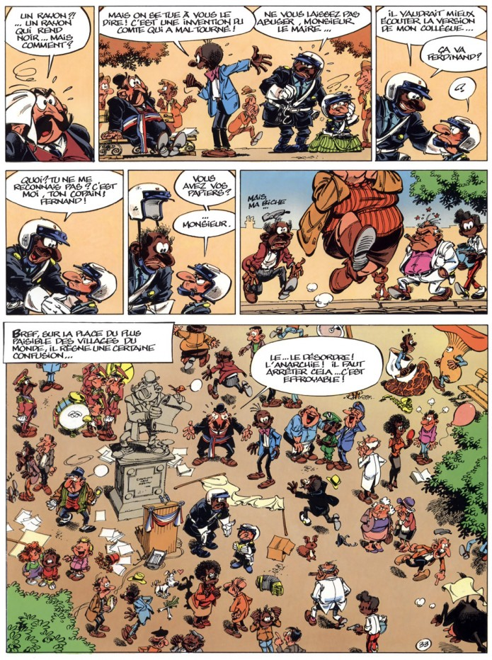 Spirou #44 p.33 (ill. Tome & Janry; (c) Dupuis)