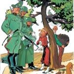 From 'Spirou: Sous le manteau' (ill. Séverin; (c) Dupuis; image via InediSpirou)