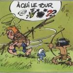 JDS #3929 p.10, from ' La queue du Marsupilami' (ill. Batem, Greg, Franquin; (c) Dupuis)