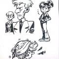 Spirou 53 sketches (ill. Lisa, via ladugard.tubmlr.com)