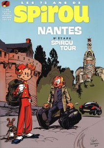 Journal de Spirou #3938 cover (ill. Yoann, Vehlmann; (c) Dupuis)