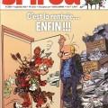 Journal de Spirou #3934 cover (ill. Yoann, Vehlmann; (c) Dupuis)