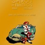 Spirou 53 cover FR Gold (ill. Yoann, Vehlmann; (c) Dupuis)