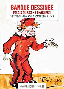 Banque Dessinée Spirou auction (ill. pseudo-Rob-Vel; (c) Banque Dessinée)