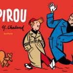 'Spirou par Chaland' cover (ill. Chaland; (c) Dupuis)