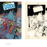 From 'Les couvertures des recueils du Journal de Spirou par Franquin' (ill. Franquin, Dupuis; (c) Dupuis and the artist)