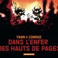 'Dans l'enfer des hauts de pages' cover (ill. Yann, Conrad; (c) Dargaud)