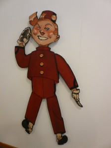 Spirou figure (artist unknown)