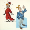 Spirou and Fantasio (ill. Chaland; (c) Dupuis and the artist; image via Artcurial)