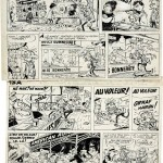 From 'Spirou et les petits formats' (ill. Franquin, Roba; (c) Dupuis and the artists; image via Artcurial)