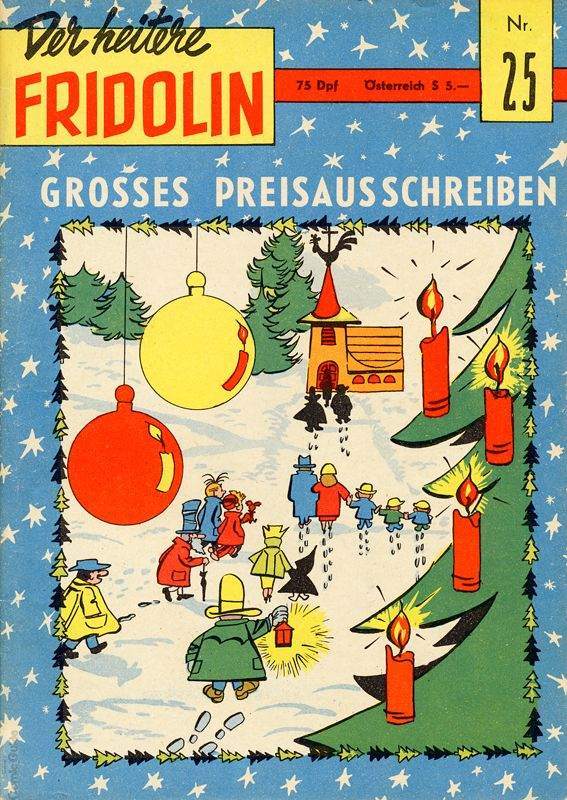 'Der heitere Fridolin' #25 cover (ill. Will & unknown; (c) Semrau, Dupuis and the artists; image from comicguide.de)