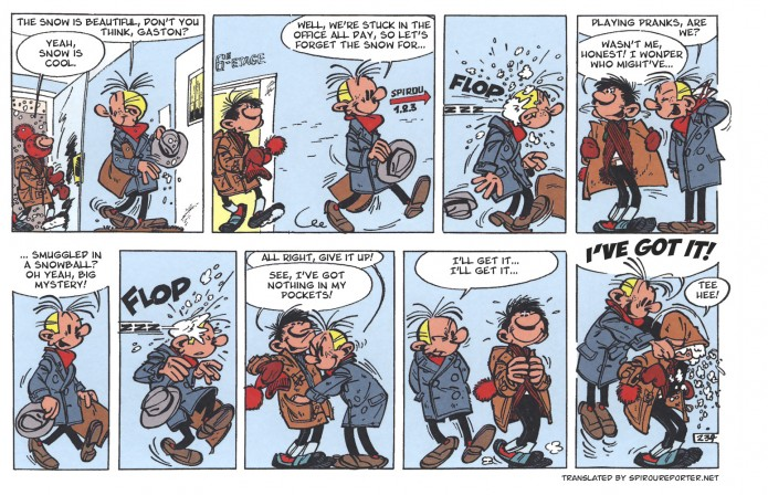 Gaston gag 234 (ill. Franquin and Jidéhem; (c) Dupuis and the artists)