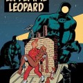 'La femme léopard' - later retitled 'Le fétiche des Marolles' - cover proposal (ill. Schwartz & Yann; (c) Dupuis and the artists; via olivierschwartz.blogspot.com)