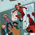 "Robbedoes en Kwabbernot (""Spirou and Fantasio""; ill. Janne Raets; (c) Dupuis and the artist)"