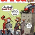 Journal de Spirou #3950 cover (ill. Yoann & Vehlmann; (c) Dupuis and the artists; SR scanlation)