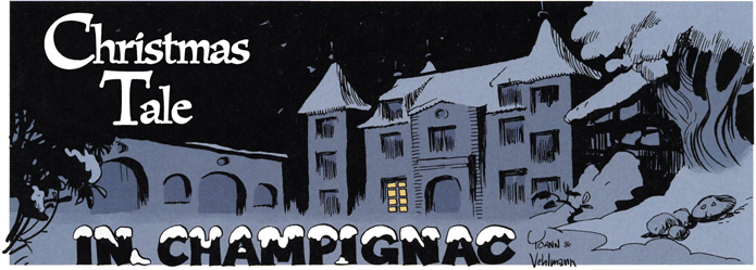 """A Christmas Tale in Champignac"" ('Conte de Noël à Champignac'; ill. Yoann; (c) Dupuis and the artist; SR scanlation)"
