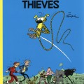 Spirou #5 'The Marsupilami Thieves' by Cinebook (ill. Franquin; (c) Cinebook and the artist)