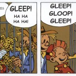 From Spirou #5 'The Marsupilami Robbers' by Euro Book (ill. Franquin; (c) Euro Book, Dupuis and the artist)