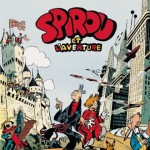 'Spirou et l'aventure' cover (ill. Jijé; (c) Dupuis and the artist)