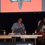 Yoann & Vehlmann interviewed at Utopiales (photo from Unification France)