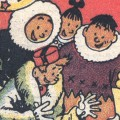 Spirou in the Land of Eskimos (ill. Jijé; (c) Dupuis and the artist; SR scanlation)