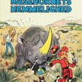 'Splint & Co. Næsehornets hemmelighed' (Spirou #6 'La corne de rhinocéros'; ill. Peter Madsen after Franquin; (c) Interpresse, Dupuis and the artist; image from faraos.dk)
