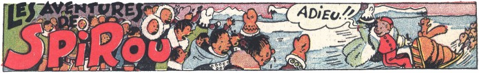Spirou in the Land of the Eskimos (ill. Jijé; (c) Dupuis and the artist; SR scanlation)