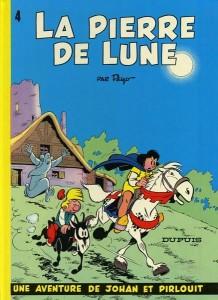 Johan et Pirlouit #4 'La pierre de lune' (ill. Peyo; (c) Dupuis and the artist; image from bedetheque.com)