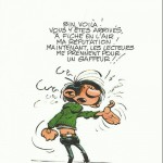 Gaston Box Set supplement (ill. Franquin and Dupuis; (c) Dupuis and the artist)
