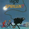 Spirou #5 'Hvor er Spirillen' Danish cover (ill. Peter Madsen after Franquin; (c) Interpresse and the artist; image from comicwiki.dk with restoration)