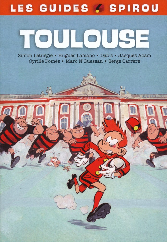 Supplement to Journal de Spirou #3966 (ill. Simon Léturgie; (c) Dupuis and the artist)