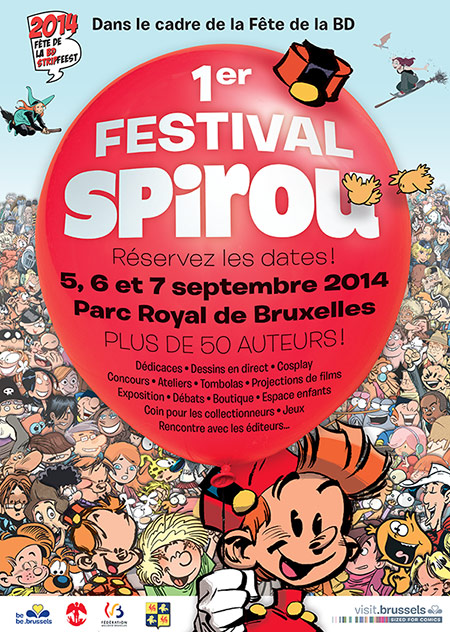 Festival Spirou poster