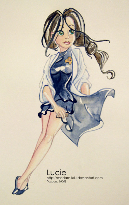 Luna (ill. Lucie/Madam Lulu after Janry; (c) Dupuis and the artist; image from deviantart.com)