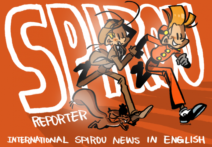 Spirou Reporter 'About' picture (ill. Sasa Tseng; (c) Dupuis, Spirou Reporter and the artist)