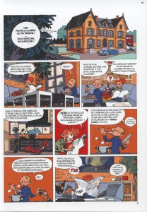 Spirou #54 p3, from Journal de Spirou #3986 (ill. Yoann & Vehlmann; (c) Dupuis and the artists)