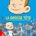 'La Grosse tête' provisional cover (ill. Tehem, Makyo & Toldac; (c) Dupuis and the artists; image from amazon.fr)
