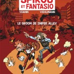 Spirou 54 cover FR 'Le groom de Sniper Alley' (ill. Yoann & Vehlmann; (c) Dupuis and the artists; from dupuis.com)