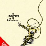 'Le Marsupilami de Franquin' VO provisional cover (ill. Franquin; (c) Dupuis and the artist; from dupuis.com)