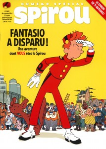 Journal de Spirou #3997 (ill. Pascal Jousselin; (c) Dupuis and the artist)
