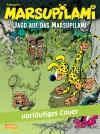 "Marsupilami #0 'Sur la piste du Marsupilami' (DE) ""Jagd auf das Marsupilami"" (ill. Franquin; (c) Carlsen, Marsu and the artist; from carlsen.de)"