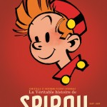 'La véritable histoire de Spirou' vol. 2, 1947-1957 (provisional cover; ill. Franquin; (c) Dupuis and the artist; image from amazon.fr)
