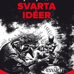 'Franquin's Svarta Idéer' ('Idées noires' Swedish cover; ill. Franquin; (c) Fluide Glacial, Cobolt and the artist)