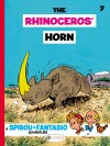 Spirou #6 'The Rhinoceros' Horn' English Cinebook cover (ill. Franquin; (c) Cinebook and the artist)