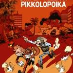 Spirou 54 cover FI 'Pikon ja Fantasion uudet seikkailut 9: Sniper Alleyn pikkolopoika' (ill. Yoann & Vehlmann; (c) Dupuis and the artists)