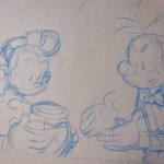 Spirou and Fantasio (ill. Pau; (c) Dupuis and the artist; from http://escapulanews.blogspot.com.es)